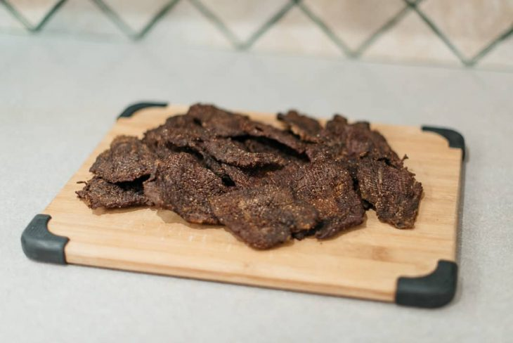 DIY Simple Beef Jerky made in a dehydrator