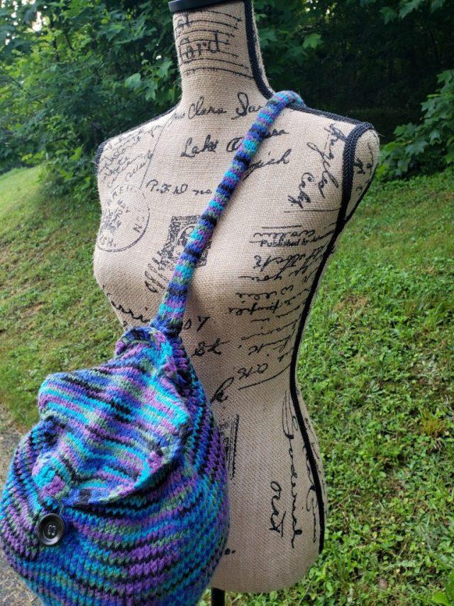 The Santa Fe Nights Bag FREE KNITTING pattern Crochet tutorial purse
