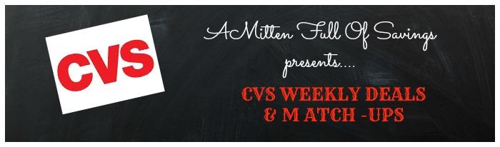cvs weekly deals matchups
