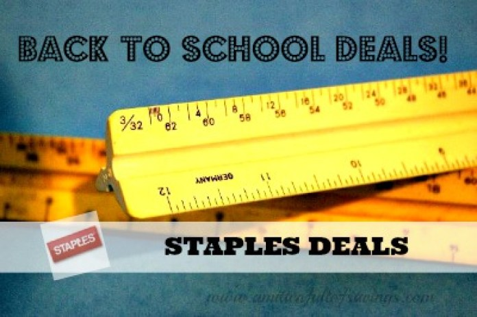 Back To School Supplies - Staples + Office Depot