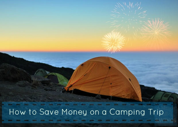 how to save on a camping trip
