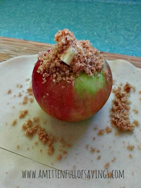 Apple Dumplings Stuffed Apple