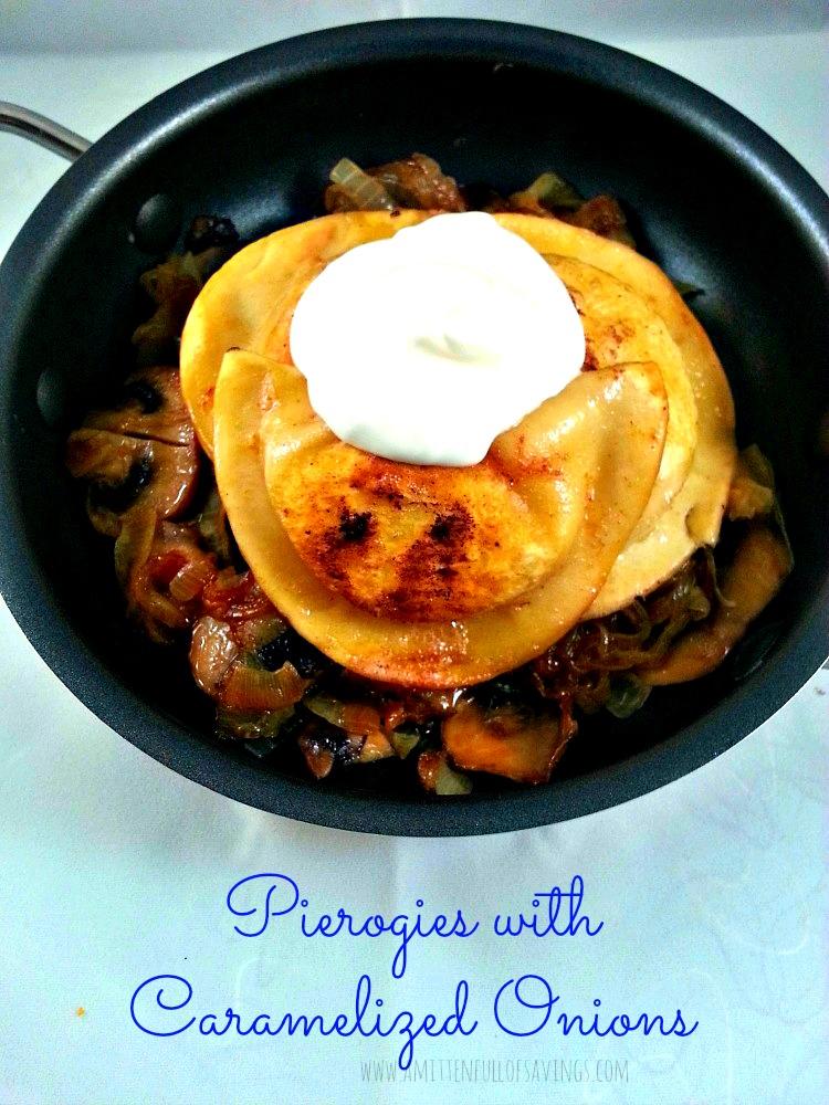 Pierogies with Caramelized Onions