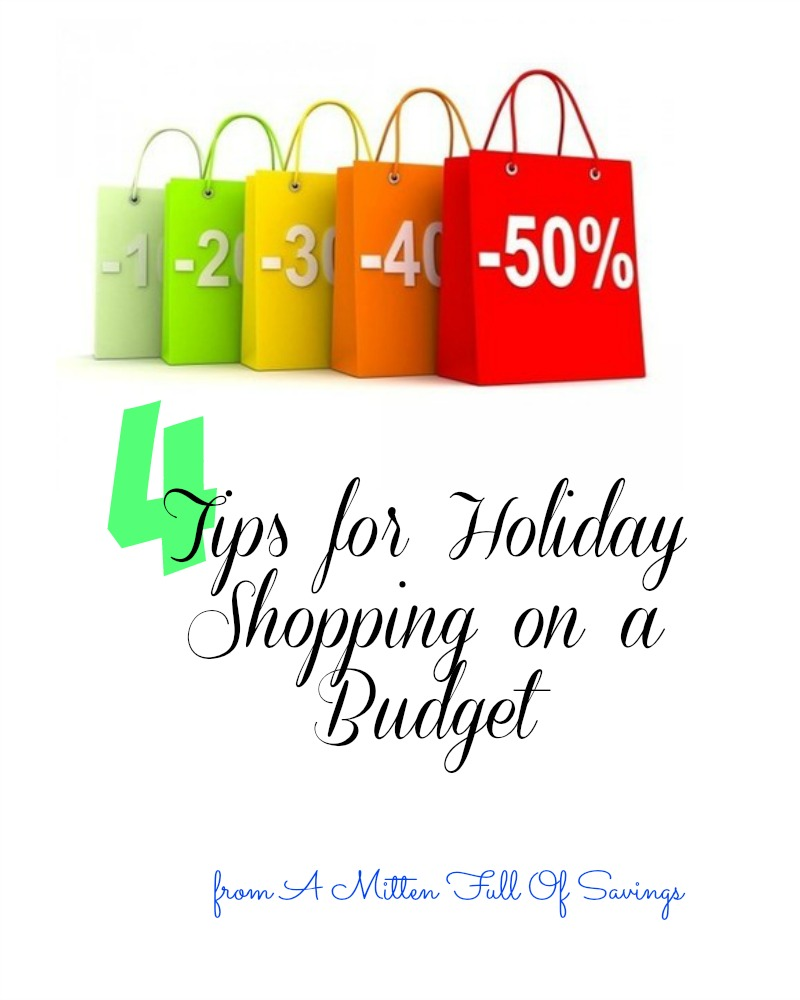 tips for holiday shopping on a budget