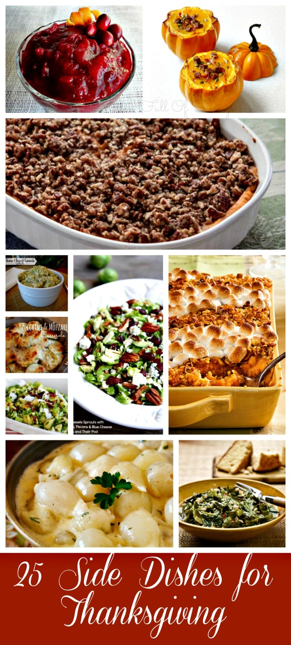 25 side dishes for thanksgiving