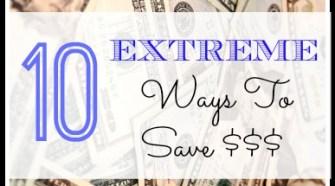 money save ways, ways to save money