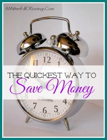 money save ways