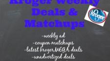 kroger deals, kroger weekly ad, kroger digital coupons, unadvertised deals at kroger