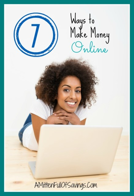 7 ways to make money online