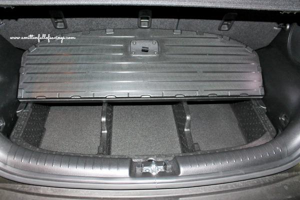 open trunk of kia soul