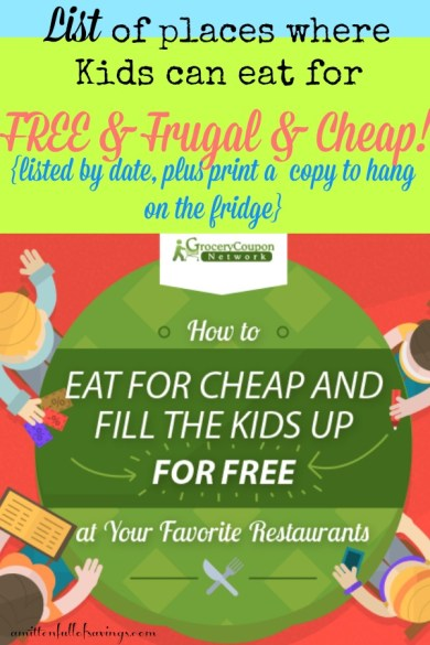 kids eat free, kids eat free deals, michigan kids eat free, lansing kids eat free, jackson kids eat free deals