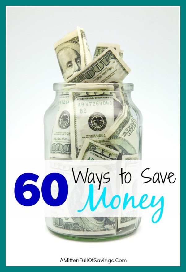 There are so many ways to save money. Here are 60+ ways to save money this summer, get out of debt and stick some extra cash in your savings account!