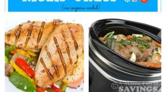 Meijer Meal Planning Week 8/24: 7 Gluten Free Meals Under $60