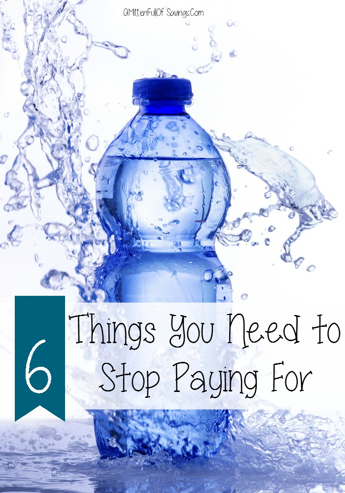 6 things you should stop paying for