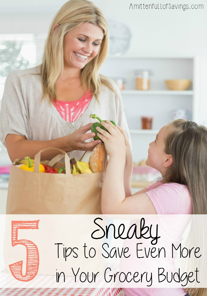 5 Sneaky Ways to Save Even More in Your Grocery Budget