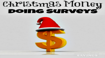 How To Make Christmas Money Doing Surveys