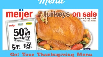 meijer ad, meijer meals, meijer thanksgiving