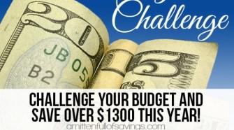 52 week challenge, money saving ideas