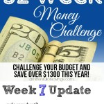 52 Week Money Challenge - Week 7
