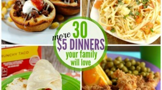 30 More Dinner Ideas Under $5 Bucks