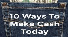 10 Ways To Make Cash Today
