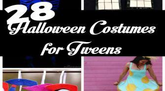 28 Halloween Costumes for Tweens