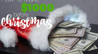How To Make $1000 Before Christmas