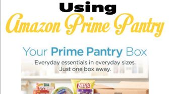 Why You Should Be Using Amazon Prime Pantry