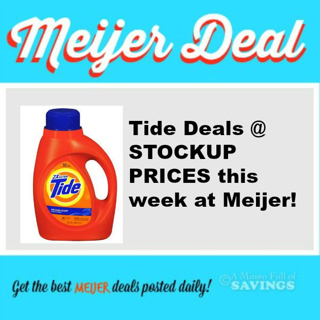 tide deals at meijer