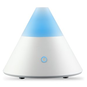 ZAQ Noor Essential Oil Diffuser LiteMist Ultrasonic Aromatherapy With Ionizer and Color