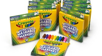 Crayola Broad Ultra Clean Markers (120-Count)