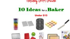 10 Gift Ideas for The Baker