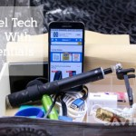 Create an easy travel tech box to keep all of your gadgets in one place!! Create A Travel Tech Box With Essentials