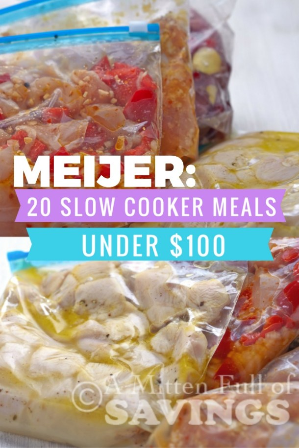 Slow Cooker Meal Ideas. Get dinner on the table quickly with these easy dinner recipes. 20 Slow Cooker Meals under $100 Bucks!