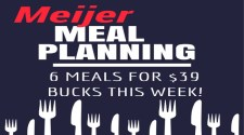 Meal Planning Ideas for Meijer