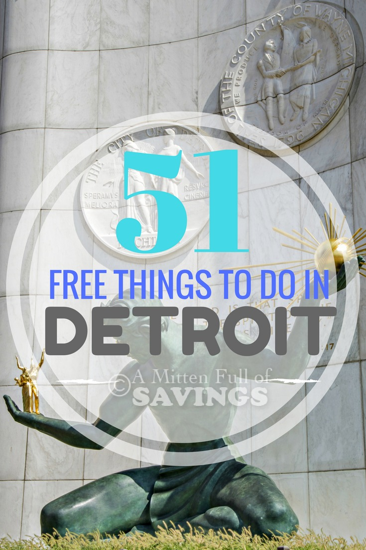 Head to Detroit this summer and find a ton of FREE things to do in the Motor City. Family-friendly things to do in Detroit this summer, and all year long!