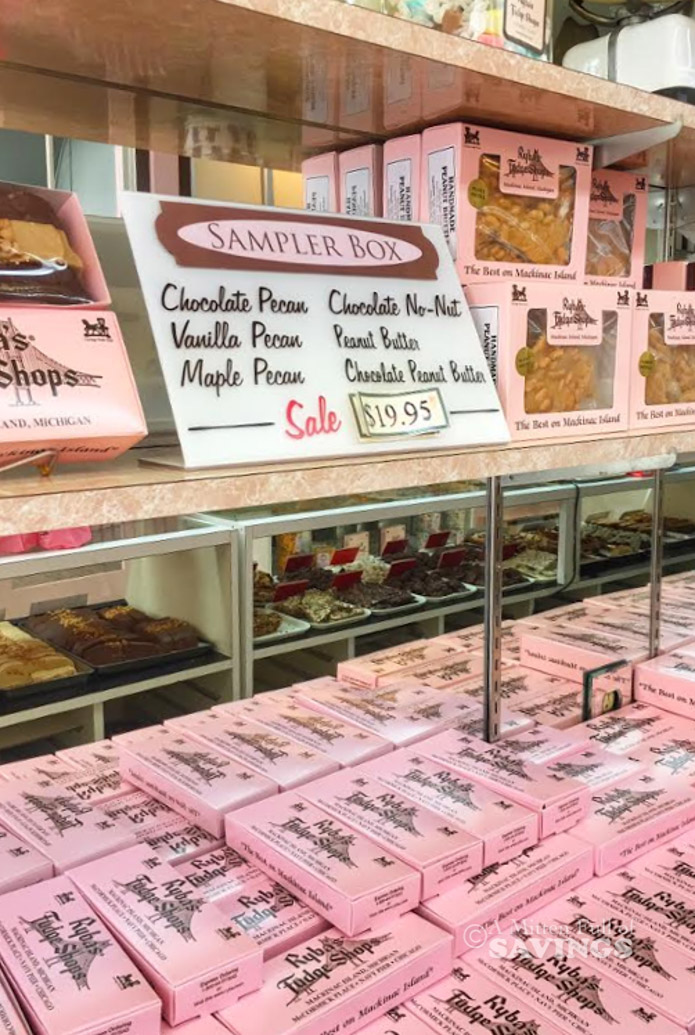 best fudge on Mackinac Island