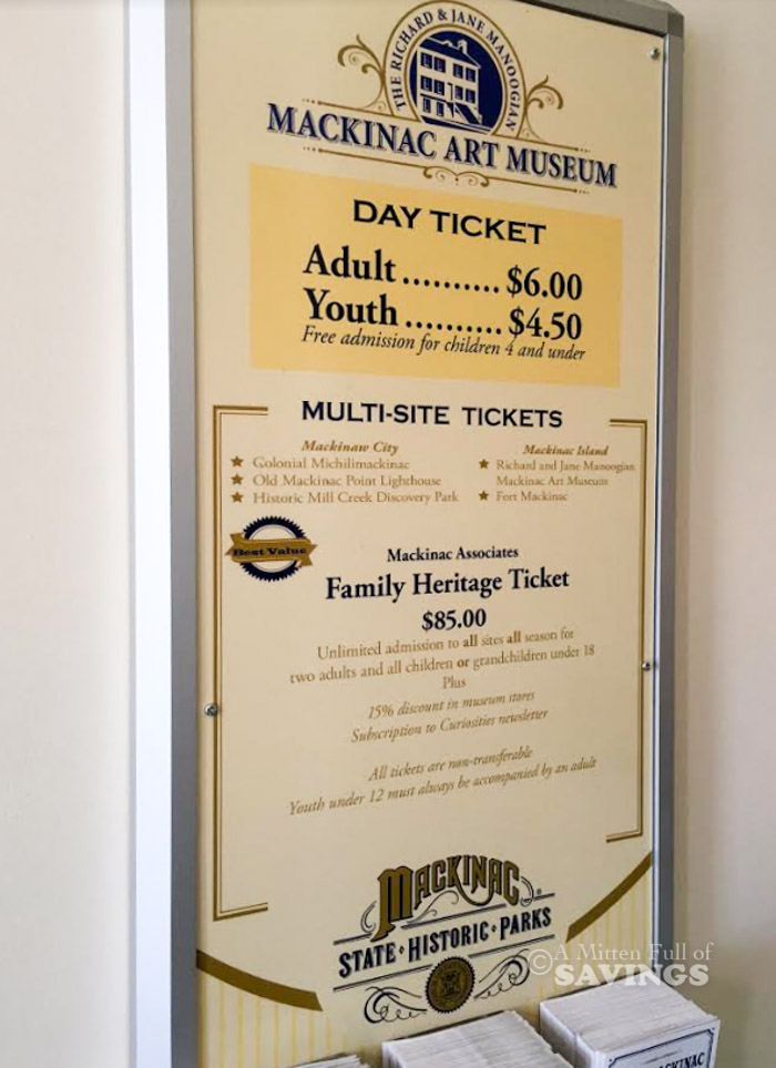 discounts/deals on Fort Mackinac