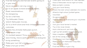 Create the ULTIMATE Fall Bucket List with these ideas. Plus, this is a great bucket list for frugal people, who are looking for free or frugal activities to do this fall. Get our free fall bucket list printable on the blog now.