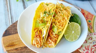Here's a super easy and delicious Instant Pot Chicken Tacos recipe. This is the ideal way to make dinner for your family in minutes when you don't feel like standing over a stove for hours! Everyone can customize their own taco, and you can hear songs of praise for making a favorite meal.