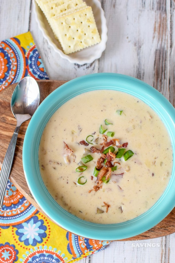 Directions for Instant Pot Clam Chowder Recipe: