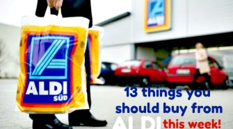 13 things to buy from Aldi this week!