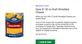 Kroger Digital coupon offers 2 day sale