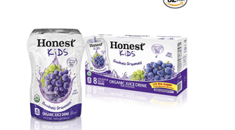 HONEST Kids Organic Juice Drink, 32 pack Just $9.60