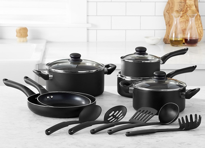 78616a658b05 Amazon Deal: 15-Piece Non-Stick Cookware Set $46.47 - Fresh Outta Time