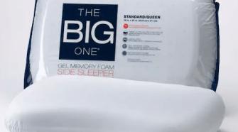 he Big One® Gel Memory Foam Side Sleeper Pillow $11.46 (Reg $499)