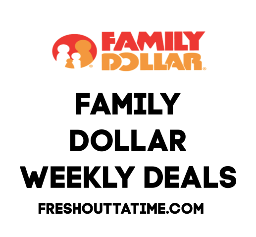 Family Dollar Weekly Deals