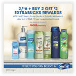 CVS deal on Suave products