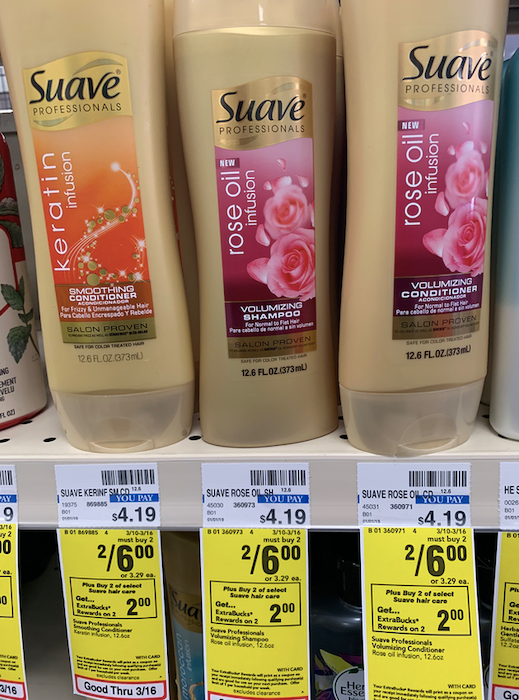 CVS Deal on Suave
