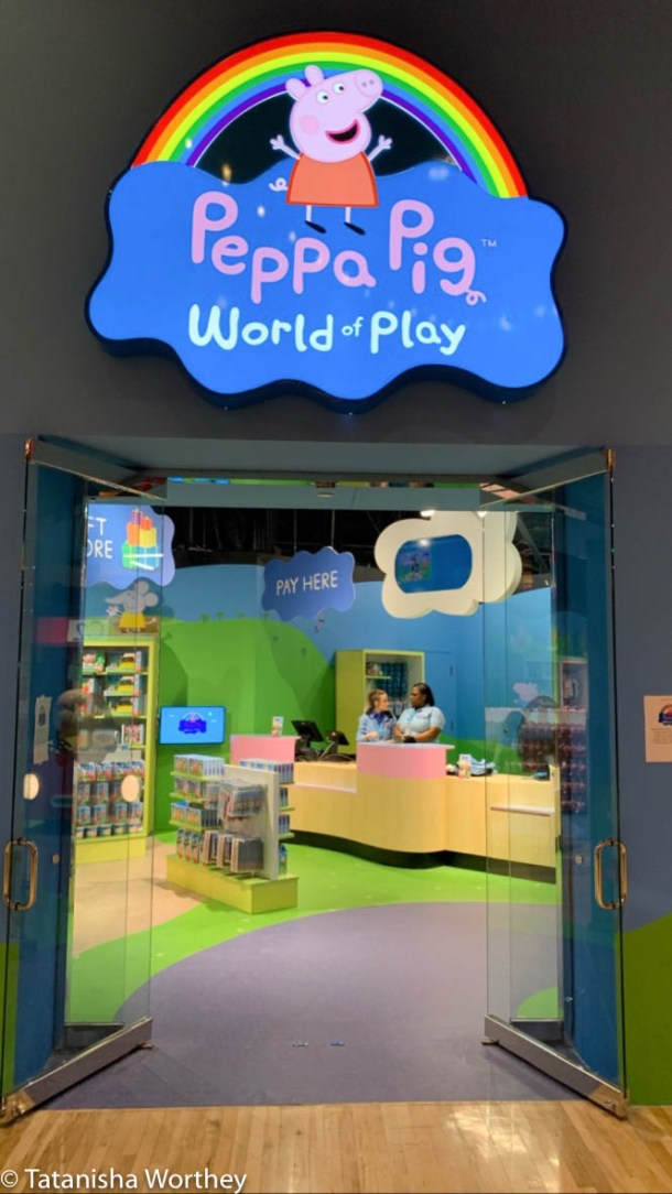 Where is Peppa Pig World Of Play located in Michigan?